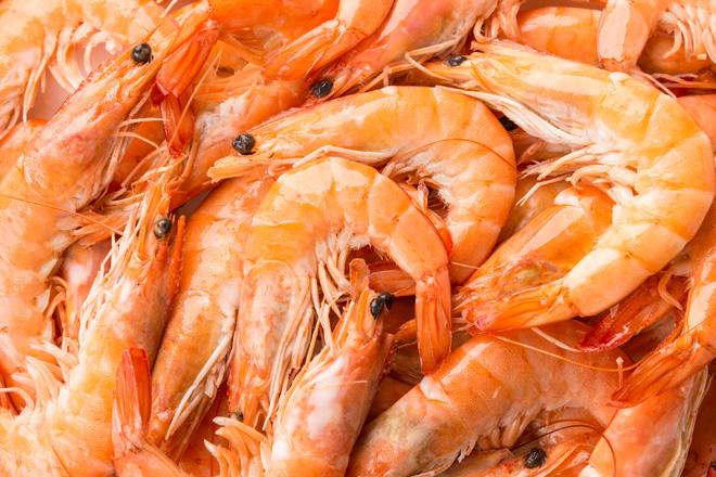 Креветка білонога «Shrimps» вар.40-100 охол. ваг