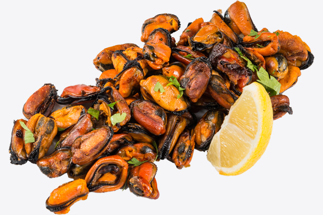 Photo Dish Mussel meat