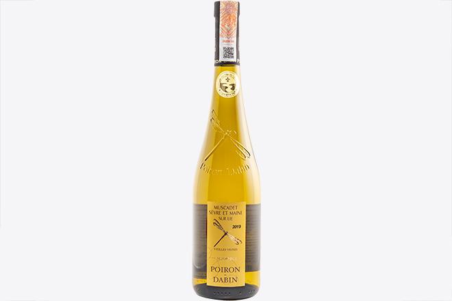 Вино сухе біле Muscadet Sevre et Maine Sur Lie Vie