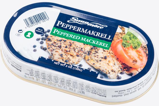Філе скумбрії з перцем (peppermackerel sunnmore/sc
