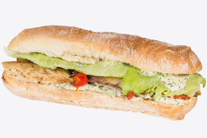 Сендвіч із скумбрією