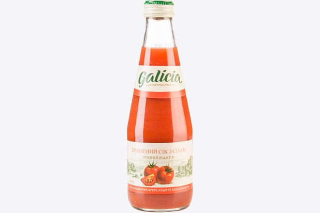 Сік томатний 0,3 л Galicia