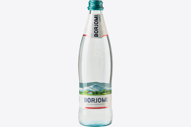 Вода мінеральна Боржомі скло 0,5 л