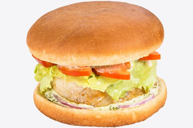 Бургер з хеком