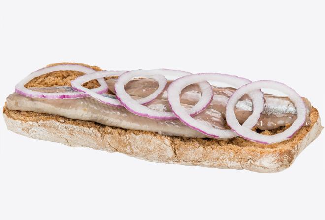 Сендвіч Голландський із оселедцем
