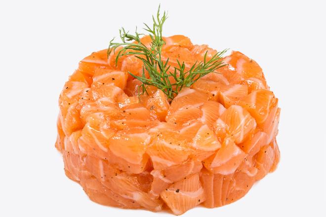 Photo Dish Salmon tar-tar