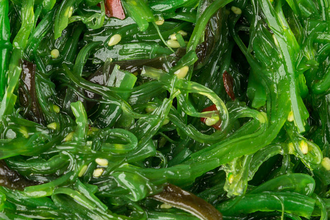Салат з морських водоростей Хаяши Вакаме ваг