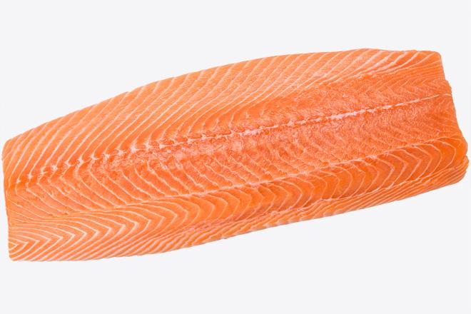 Лосось філе «Salmon fillet» охол ваг.