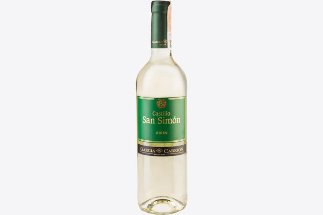 Вино сухе біле Castillo San Simon Airen, J.Garcia