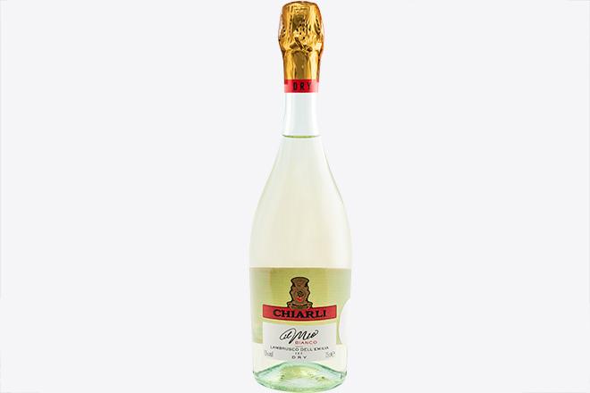 Вино напівігристе сухе біле Lambrusco dell Emilia