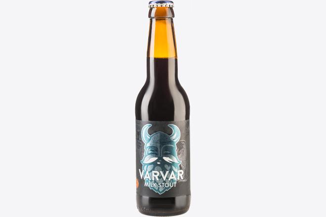 Пиво темне нефільтр. Varvar Milk Stout 4.7% 0,33 л