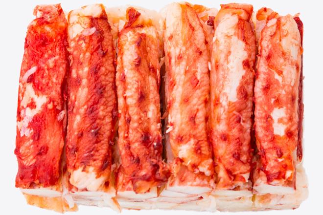 М'ясо краба королівського «King Crab meat» дефр.ва