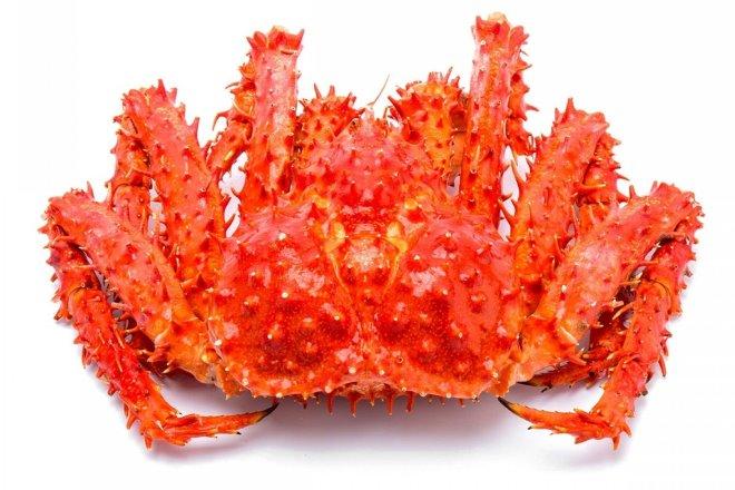Краб королівський «King Crab» цілий дефрост. ваг