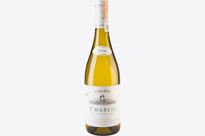 Фото Блюдо Вино сухое белое Chablis Domaine Du Colombier 0,75 л, Франция