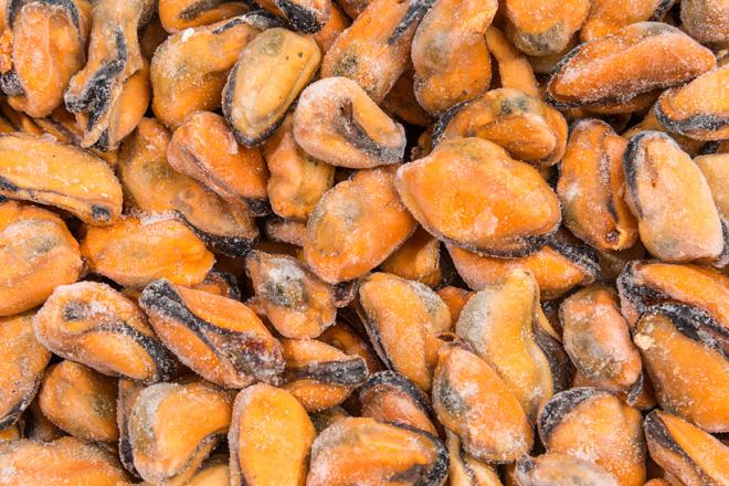"""Мідії м""""ясо«Mussels meat» в/м ваг ІСПАНІЯ"""