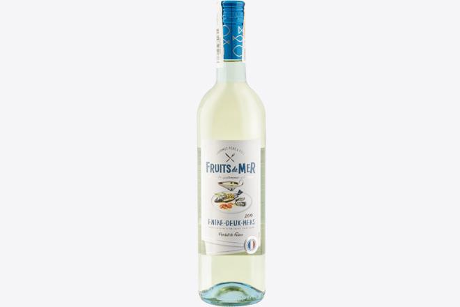 Вино сухе біле Fruits de Mer Entre Deux Mers