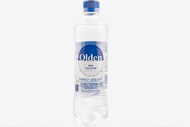 Вода мін. природ. газов. Olden CARBONATED water п